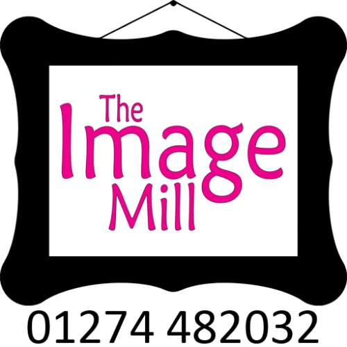 The Image Mill logo with contact phone number 01274 482032